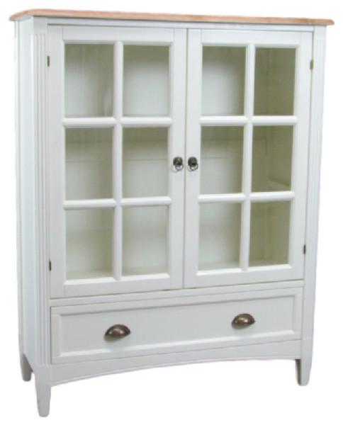 Jamestown Glass Door Bookcase.