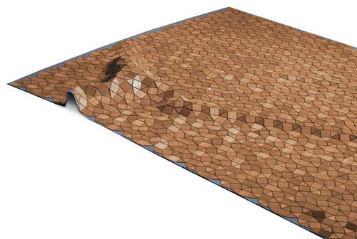 Wooden Carpet Mortimer Holzteppich Böwer