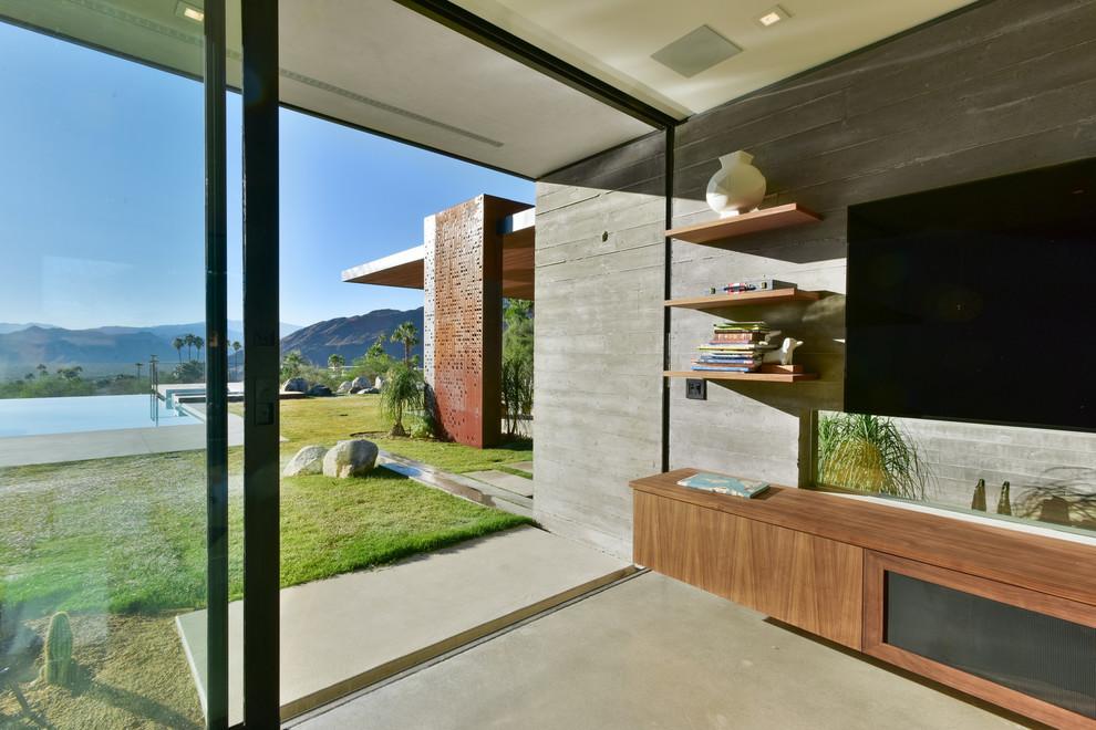 Home design - contemporary home design idea in Los Angeles