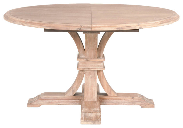 Devon Round Extension Dining Table Farmhouse Dining Tables by Orient Ex