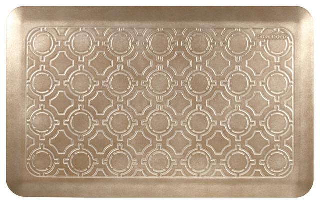 Smart Step Select Moroccan Mat, Salted Caramel, 20x32.