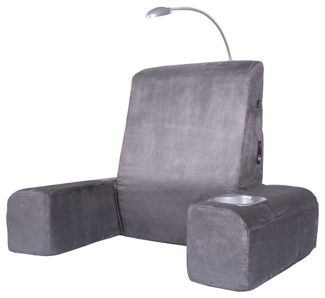 carepeutic bed lounger with heated comfort massage - contemporary