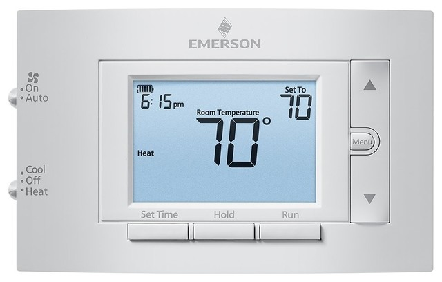 Emerson Conventional Programmable Thermostat, 1h/1c.