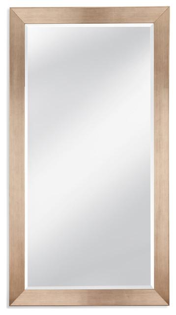 Allis Leaner Mirror, Silver.