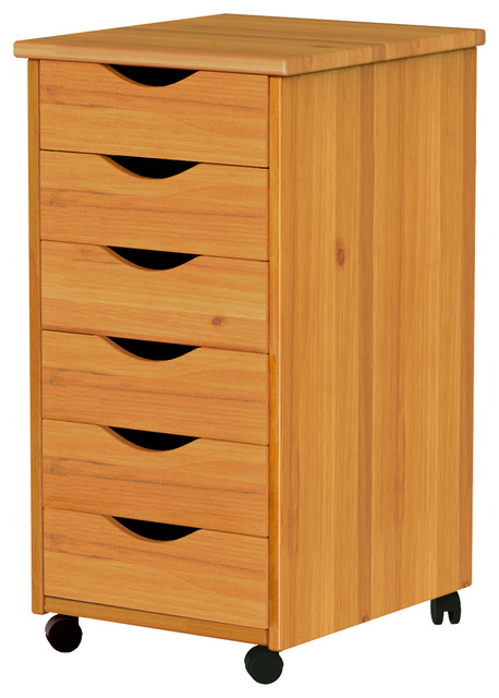 Adeptus - 6 Drawer Roll Cart - View in Your Room!   Houzz