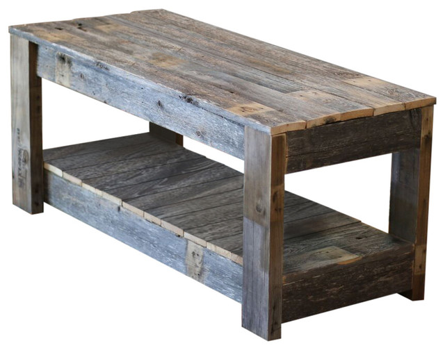 Rustic Coffee Table 5