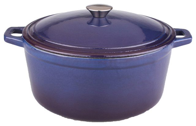 Neo Cast Iron Oval Covered Casserole Contemporary Dutch Ovens And Casseroles By Berghoff International Inc Houzz