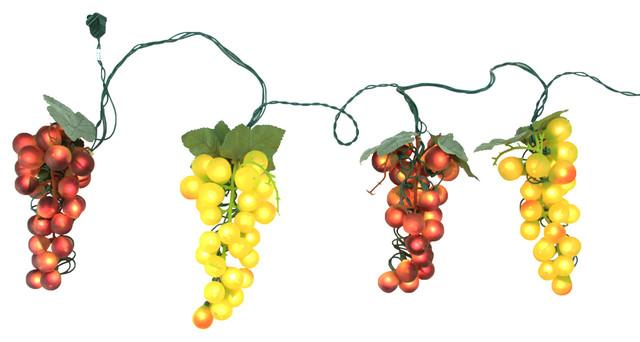 Grape Patio/garden Novelty Light Set.