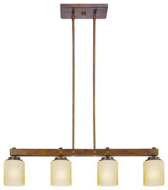 Dolan Designs 2709 90 Sherwood Island Light In Sienna