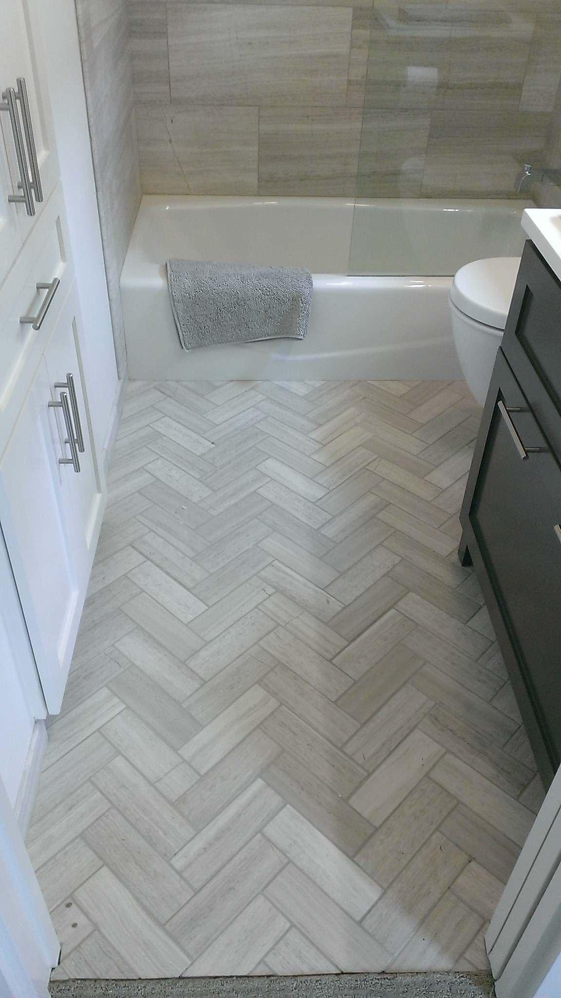 Gray Marble Floor Houzz