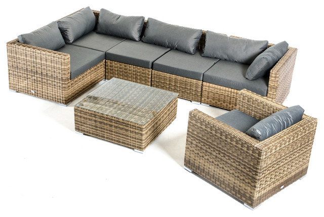 renava nevada modern outdoor sectional sofa set loungesets