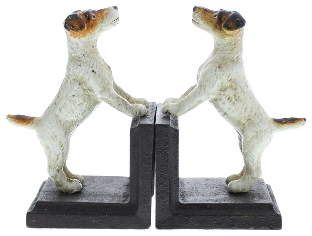 Jack Russell Bookends,