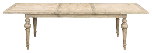 West Dining Table, Sandstone Buff