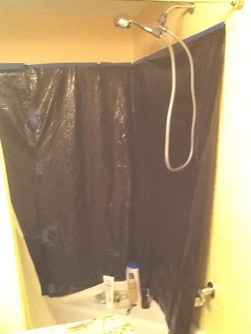 Quickie bathroom renovation