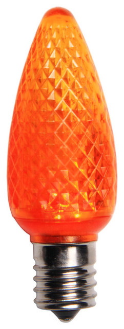 Amber Led C9 Christmas Light Bulbs - Pack Of 25.