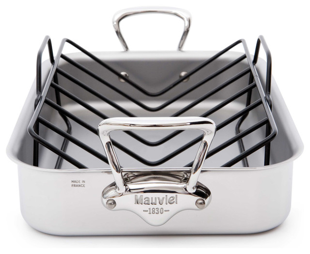 Mauviel Mauviel M&x27;cook Stainless Steel Roasting Pan.