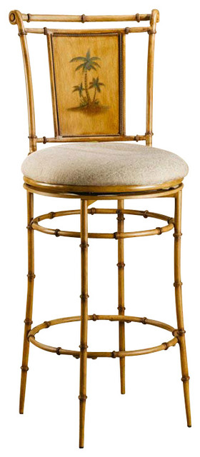 Hillsdale Furniture Hillsdale West Palm Swivel Stool In