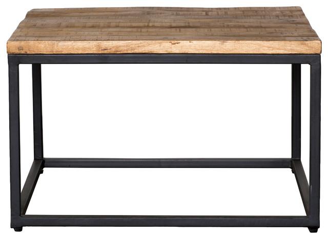 30 X 30 Square Coffee Table.Paris Mahogany Raw Mango Wood And Iron Square Coffee Table 30 By Kosas Home