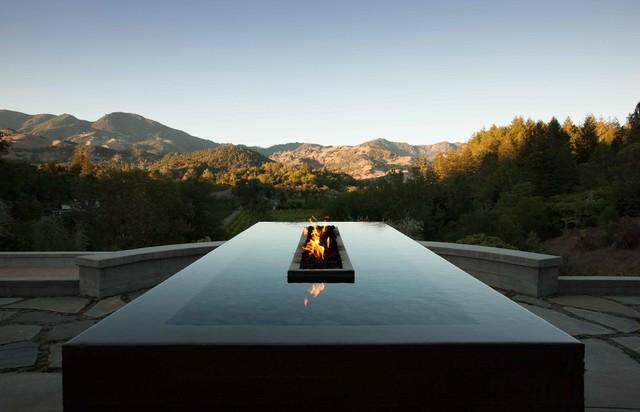 Calistoga residence contemporary san francisco by - Residence calistoga strening architects californie ...