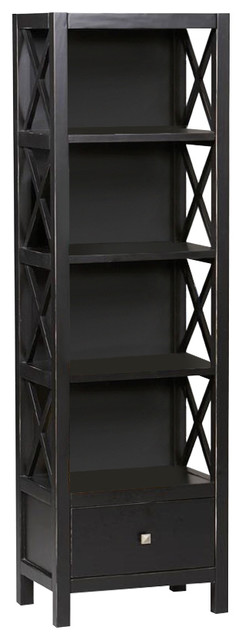 5 Shelf Tower Bookcase.