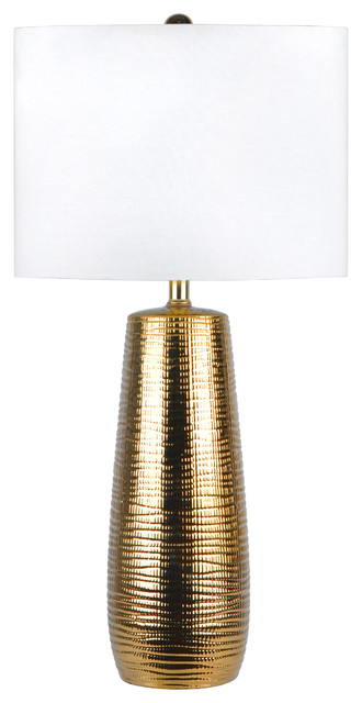 26 Kylie Ceramic Linen Shade Table Lamp.