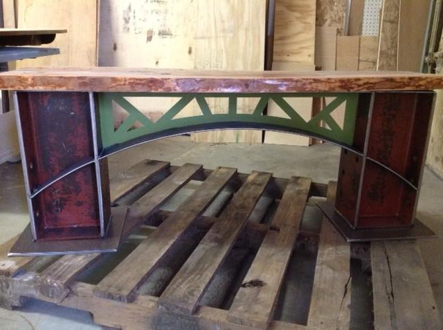 Industrial Metal and Wood