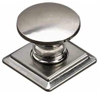 kitchen cabinet backplates richelieu contemporary metal knob square backplate 18234