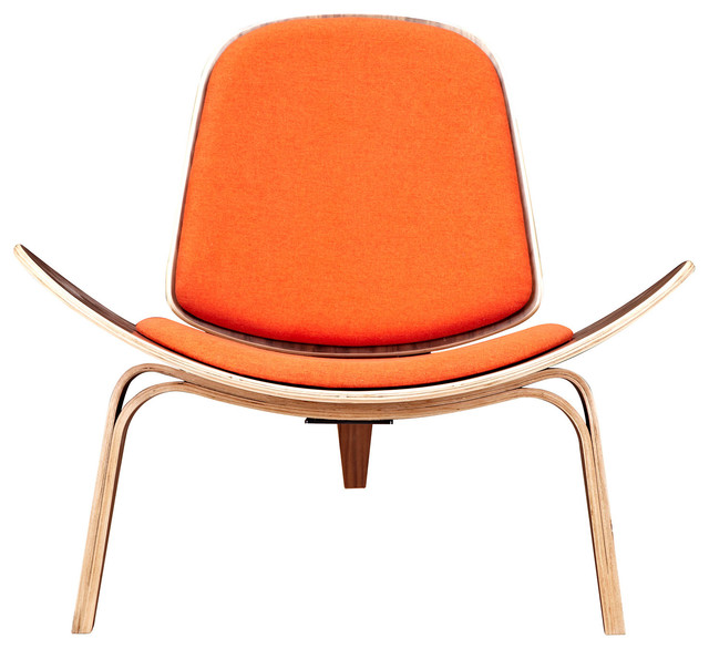 Shell Chair Modern Armchairs And Accent Chairs By
