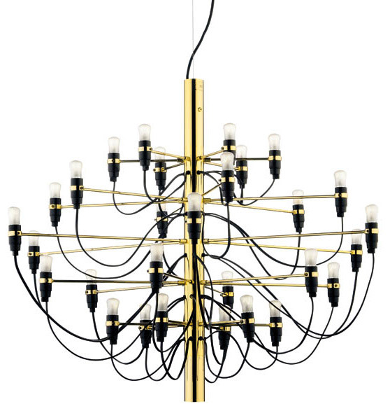 Flos Official 2097 30 Chandelier Modern Pendant Lighting By Gino Sarfatti