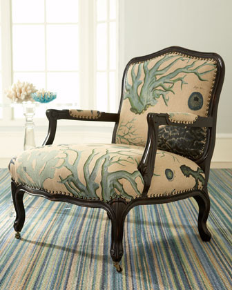 Charming I Need To Reupholster A Chair. Who Makes Similar Large Scale Print Fabric?  Thank You!