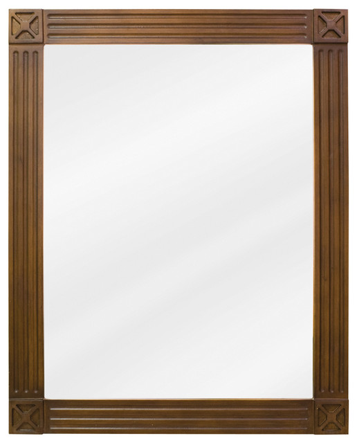Traditional Bathroom Mirrors elements mirror - traditional - bathroom mirrors -