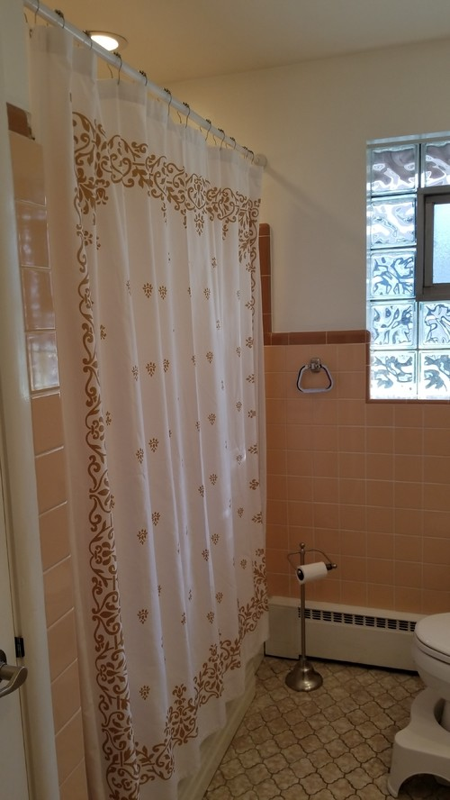 peachy mobile home bathroom ideas. I need to tone down the peachy pink color  If it was would probably just go with and do a black retro bathroom but s not enough 1 weekend modernize this ugly tile on 250