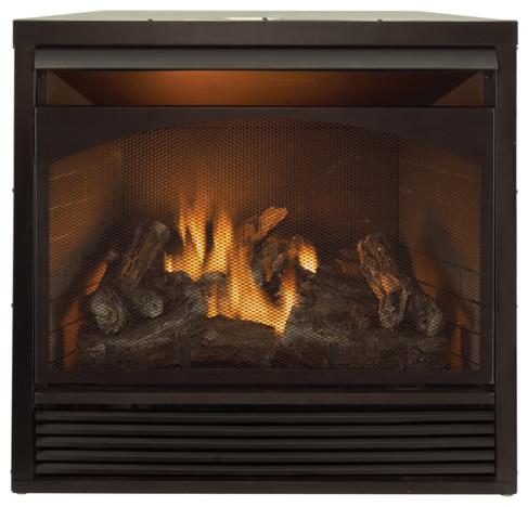 ProCom Dual Fuel Ventless Fireplace Insert -32,000 BTU,Remote ...