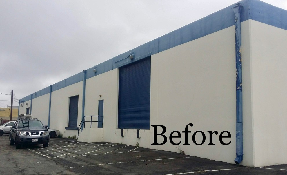 Exterior Commercial Warehouse