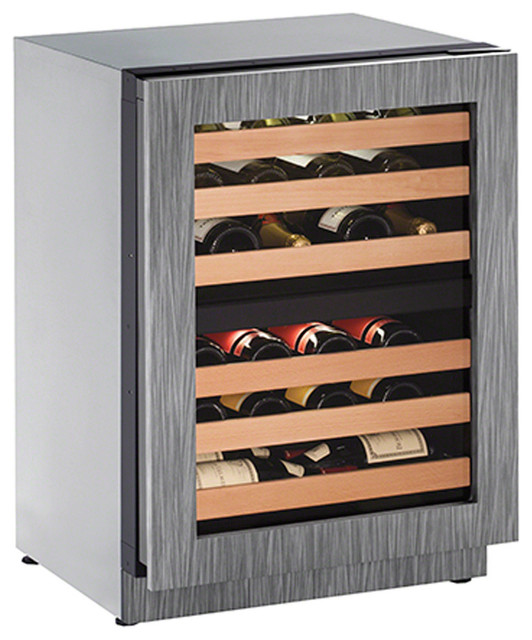 U-Line U-2224zwcint-01a, 43-Bottle Wine Captain, Left Hinge.