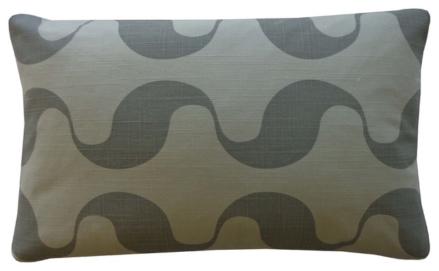 Small Green Decorative Pillow : Ondo Green Pillow, Small - Modern - Decorative Pillows - by Jiti