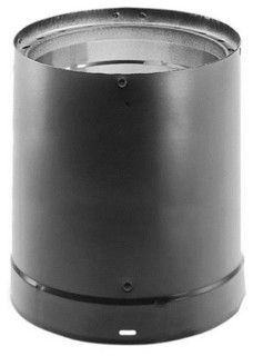 DuraVent Duravent 8618 Close Clearance Double Wall Stove Pipe, Black ...