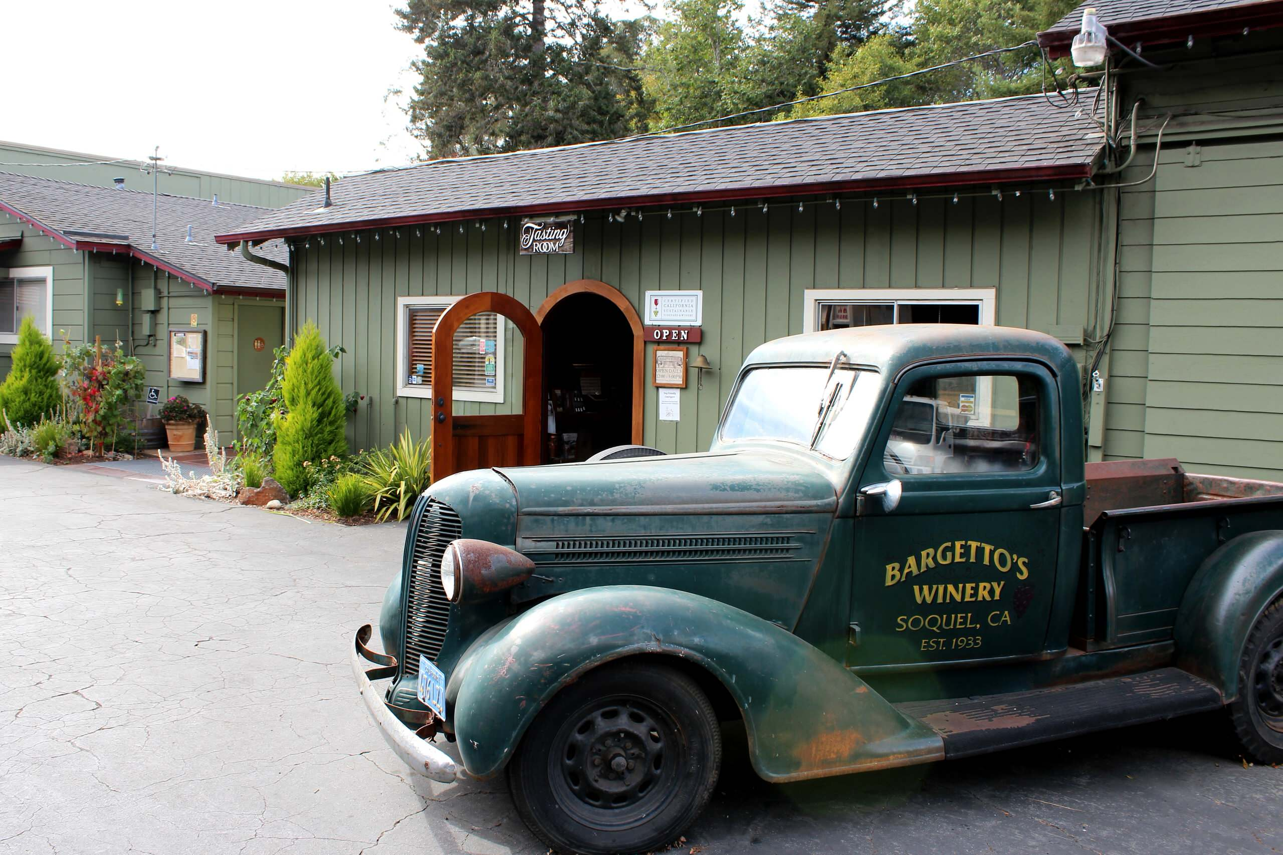 A Working Winery in Soquel