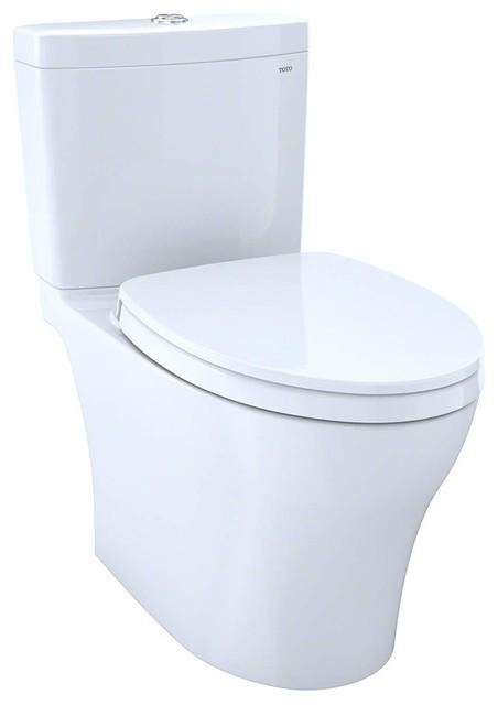 TOTO Aquia IV Elongated Toilet - 1.28/GPF, Washlet Connection
