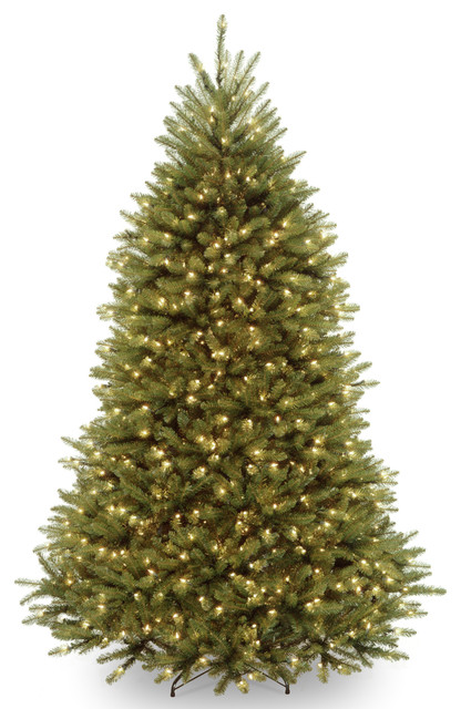powerconnect dunhill fir tree with clear lights 65 ft - 65ft Christmas Tree