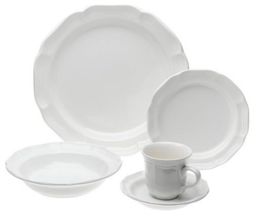 sc 1 st  Houzz : antique white dinnerware - pezcame.com