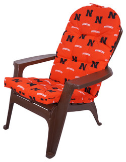 Nebraska Huskers Adirondack Cushion