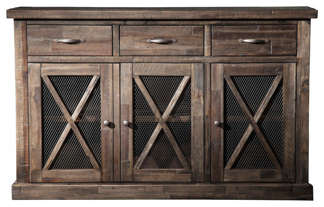 Newberry Sideboard rustic-buffets-and-sideboards - Newberry Sideboard - Rustic - Buffets And Sideboards - By Alpine