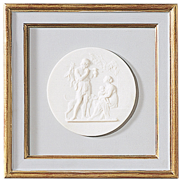 Framed Relief, Model A, Small.