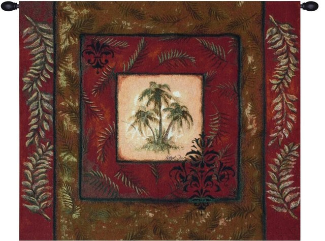 Palm Breeze Wall Hanging Tapestry.
