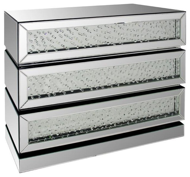 Movince Modern Mirrored Dresser View in Your Room