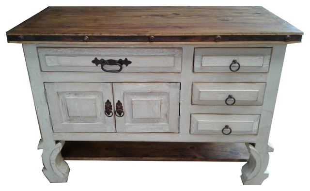 Shelby Vintage Style Rustic Bathroom Vanity, 36x22x36, Right Side Drawers.