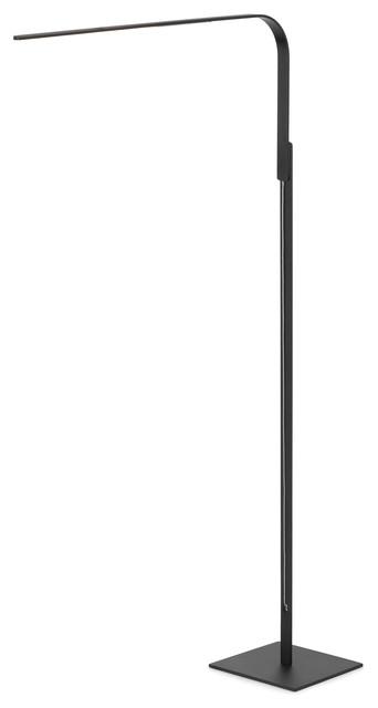 Lim L Floor Lamp, Black.