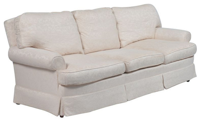 Down Filled Ralph Lauren Sofa   Ready For Rehab   $6,495 Est. Retail