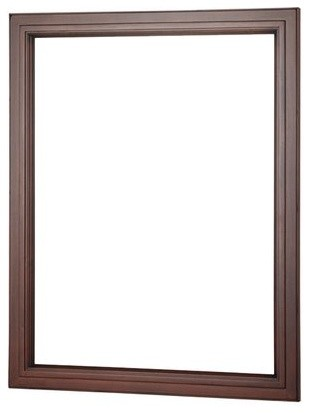 23x30 Auguste Wall Mount Mirror, Chestnut by Foremost